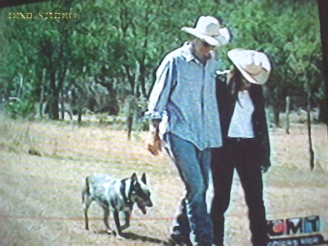 Emily and Charlie at their Ranch